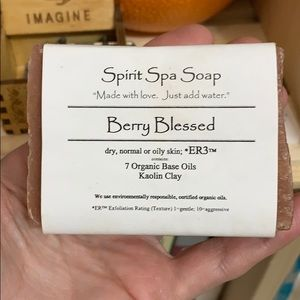 Spirit Spa Soap Berry Blessed
